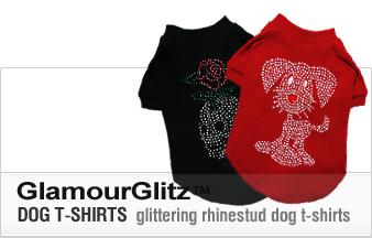 GlamourGlitz Dog T-Shirts