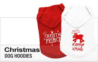 Christmas Dog Hoodies