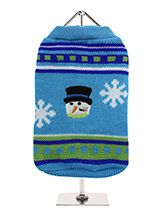 Let it Snow ''Chilly'' Sweater - Can there be anything more seasonal than this fantastic retro Snowman sweater, it's fun, it's warm, it's stylish and can be worn right through the Winter months, though ideal for Christmas day. So get in the mood with our fun and funky sweater and make this Christmas one to remember.