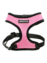 Urban Pup Pink Soft Harness - Our Urban Pup Pink Soft Harness has been designed by Urban Pup to provide the ultimate in comfort and safety. It features a breathable material for maximum air circulation that helps prevent your dog overheating and is held in place by a secure clip in action. The soft padded breathable side covers...