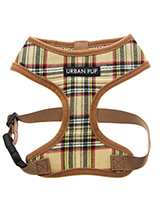 Brown Tartan Harness - Our Brown Checked Tartan Harness is a traditional Scottish Highland design which is stylish, classy and never goes out of fashion. It is lightweight and incredibly strong. Designed by Urban Pup to provide the ultimate in comfort and safety. It features a breathable material for maximum air circulati...