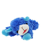 Baa Baa Blue Sheep Plush & Squeaky Dog Toy - Most dogs don't like sheep but they sure do love our Baa Baa Blue Sheep. This toy will provide hours of fun for your pup as he squeaks with every bite. These soft, cute and cuddly toys are designed for your dog to both snuggle with and play with.