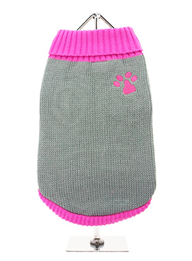 Pink Paw Sweater