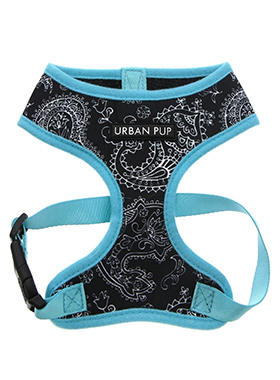 Black & Blue Paisley Harness