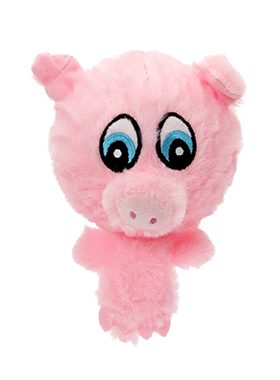 Porky the Pig Plush & Squeaky Dog Toy