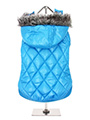 Thermo Blue Quilted Parka