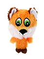 The Quick Red Fox Plush & Squeaky Dog Toy