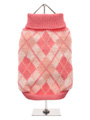 Pink Argyle Sweater