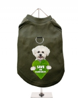''Save the Rainforests'' Harness-Lined Dog T-Shirt