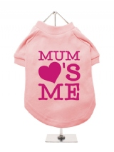 ''Mothers Day: Mum Loves Me'' Dog T-Shirt